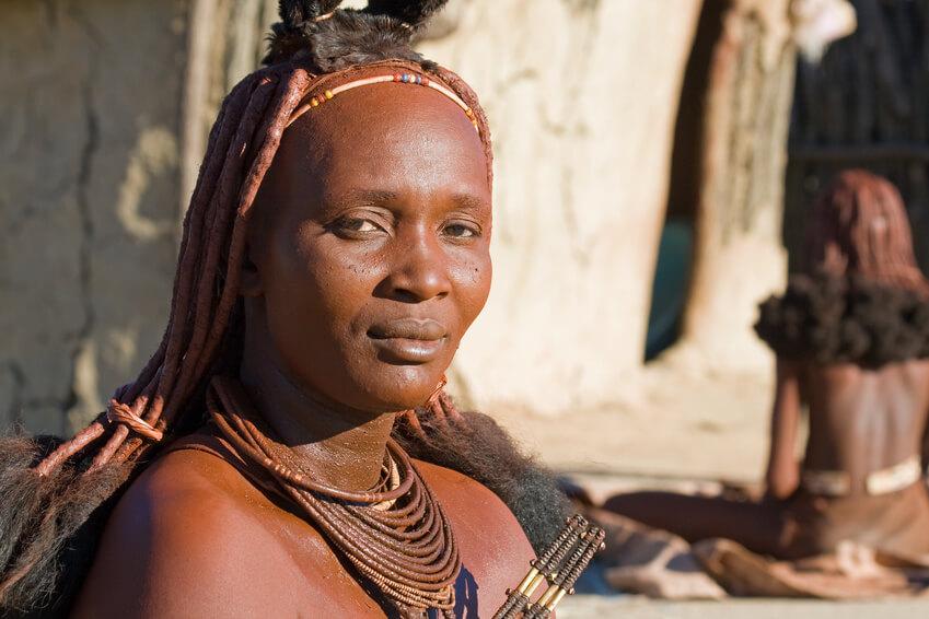 Himba woman portrait