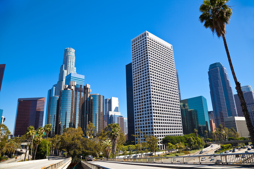Heart of Los Angeles Downtown