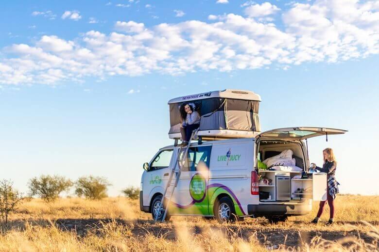 Camper in Australien