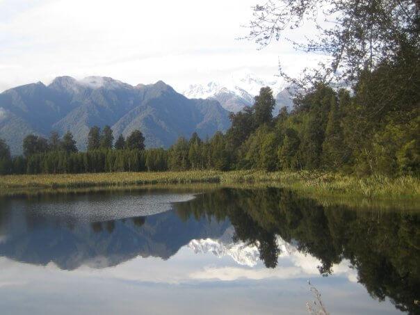 Neuseeland Spiegelsee