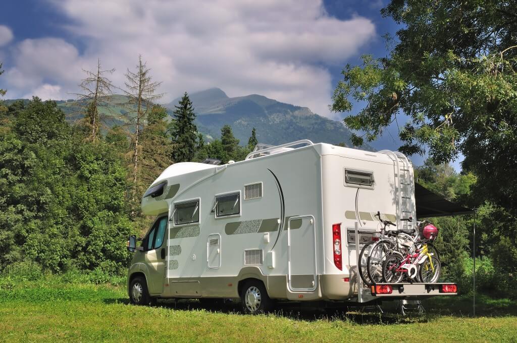 den drahtesel immer dabei fahrradtr ger f rs wohnmobil. Black Bedroom Furniture Sets. Home Design Ideas