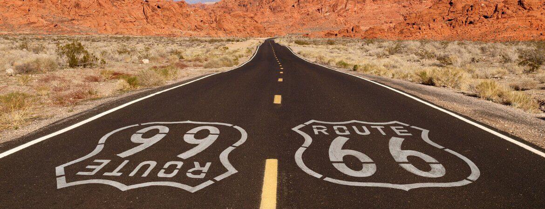 Die berühmte Route 66 in den USA