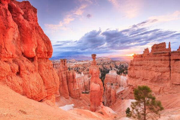 Bryce Canyon mit seinen typischen Hoodoos