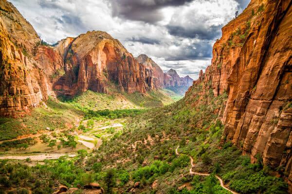 Zion National Park von oben
