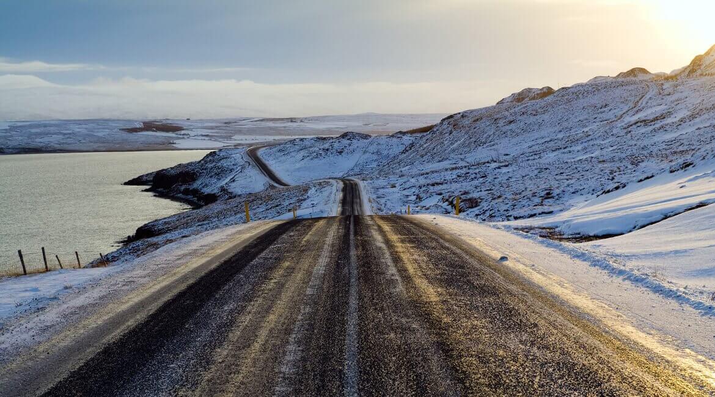 Straßen in Island