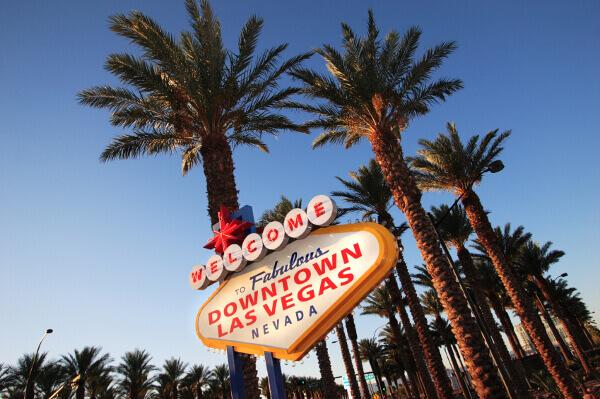 Willkommensschild in Las Vegas