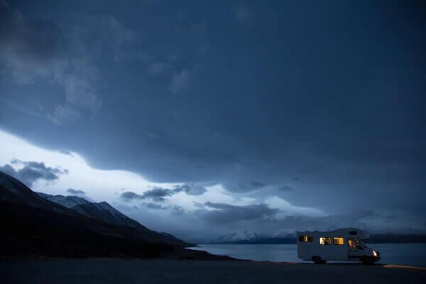 Übernachtung mitten in der Natur Neuseelands