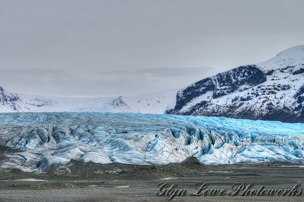 Der gewaltige Vatnajökull Gletscher