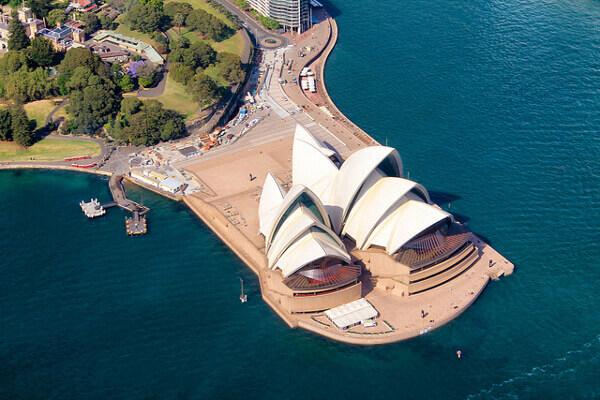 Sydney Opera House von oben