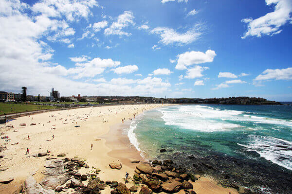Der Bondi Beach in Sydney