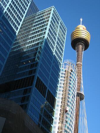 Blick auf den Sydney Tower