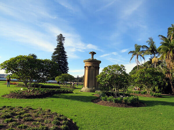 Royal Botanic Gardens in Sydney