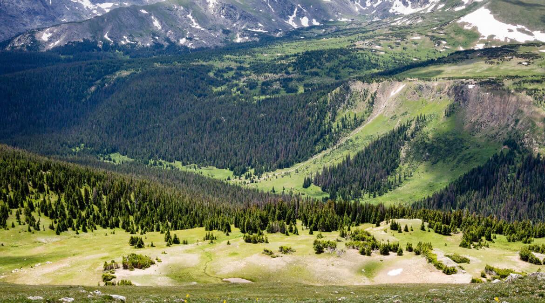Wunderschöne Landschaft in den Rocky Mountains