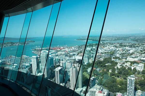 Aussicht auf Auckland vom Sky Tower