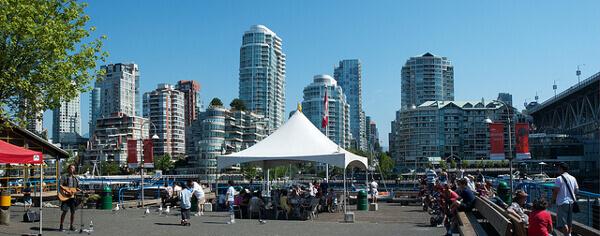 Wochenmarkt auf Granville Island in Vancouver