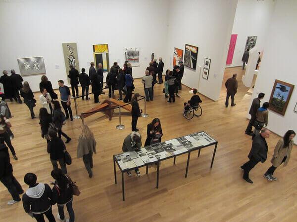 Ausstellungsraum in der Auckland Art Gallery