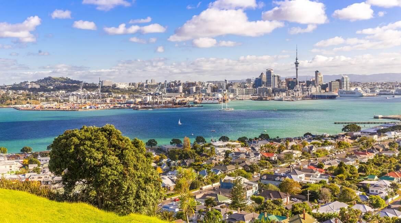 Skyline von Auckland