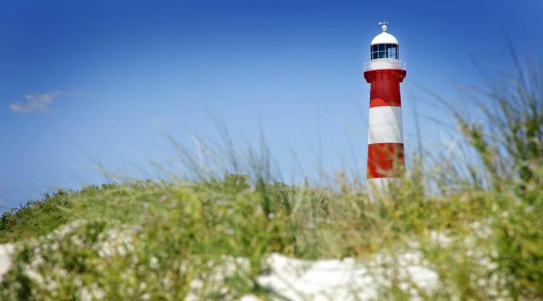 Leuchtturm an der deutschen Ostsee
