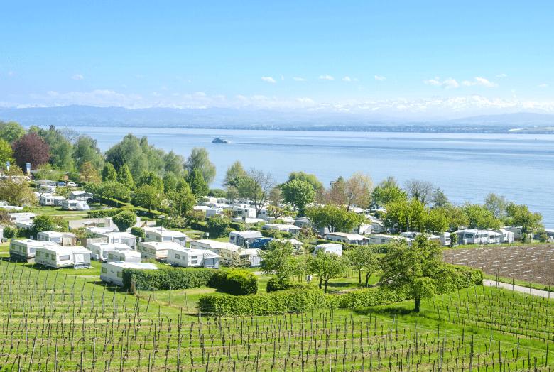 Campingplatz am Bodensee