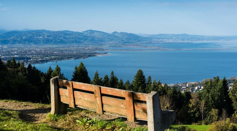 Bodensee Panorama Aussicht