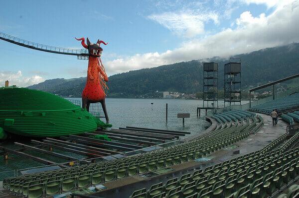 Seebühne der Bregenzer Festspiele