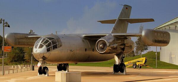 Ausstellungs-Flugzeug im Dornier-Museum