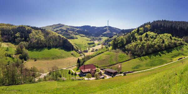 Malerische Region um den Schwarzwald