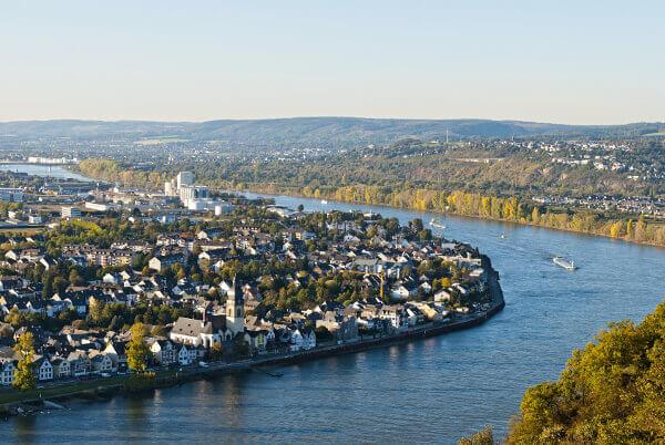 Moselschleife bei Koblenz