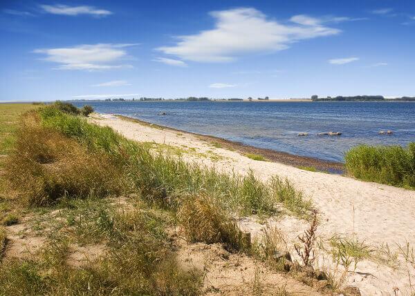 Das Salzhaff an der Ostsee
