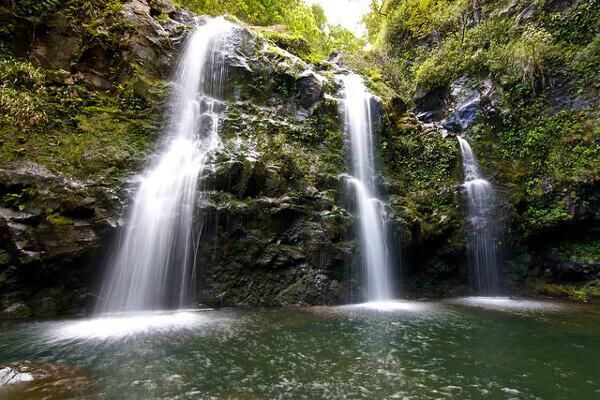 Wasserfälle Road to Hana