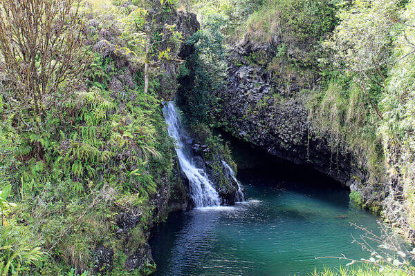 Wasserfall Road to Hana