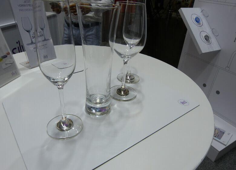 Unterschiedliche Gläser aus dem Silwy Sortiment