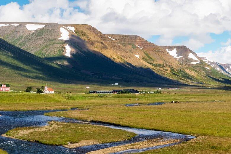 Landschaft am Skagafjörður