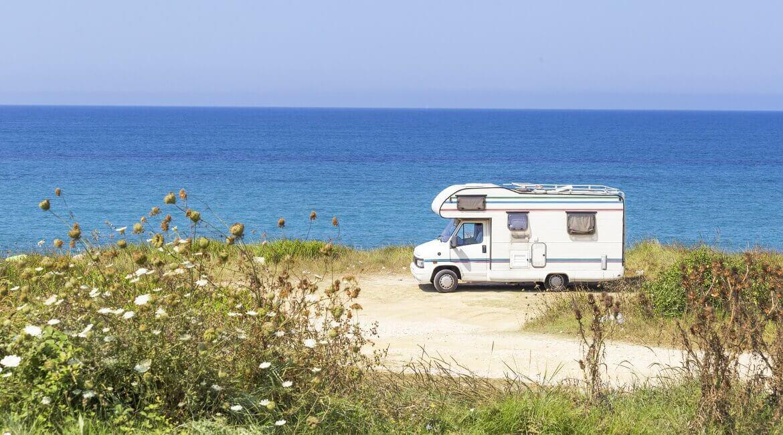 Camper in Frankreich