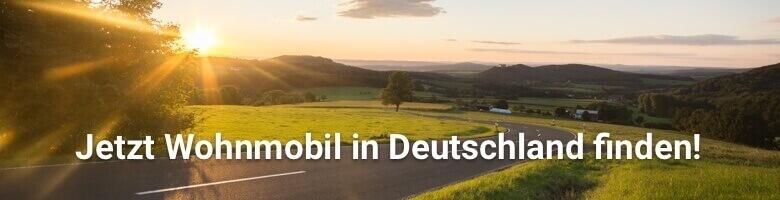 Wohnmobil in Deutschland bei CamperDays mieten