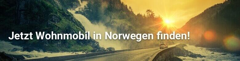 Wohnmobil in Norwegen bei CamperDays mieten