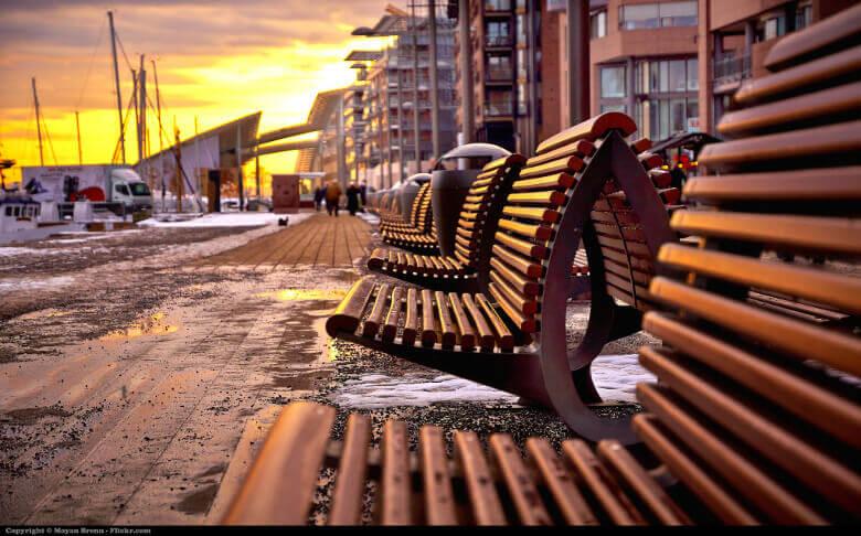 Oslo am Abend