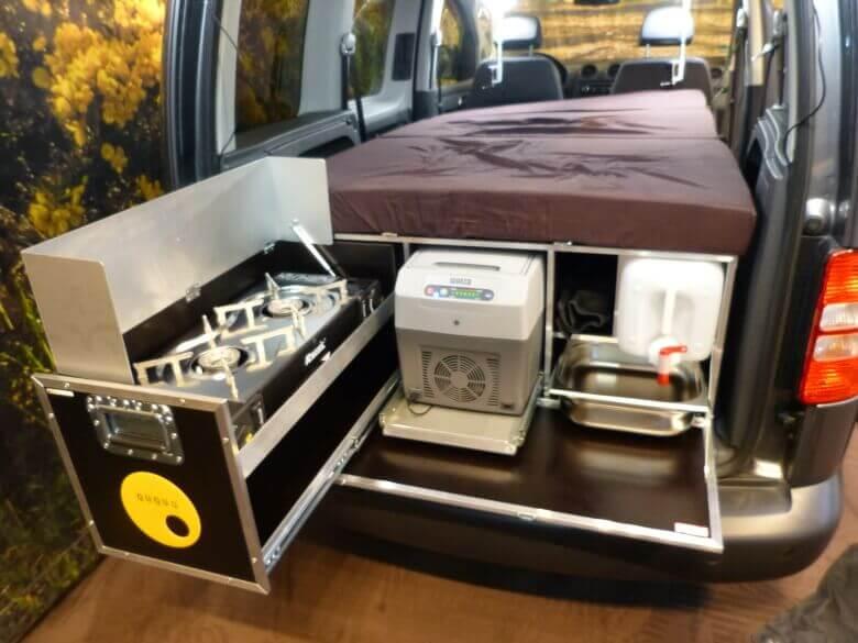 Die Campingbox von QUQUQ