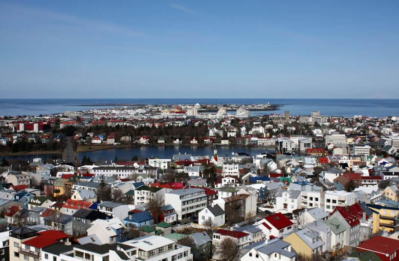 Reykjavík von oben