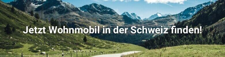 Wohnmobil in der Schweiz bei CamperDays mieten