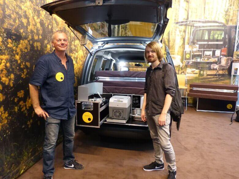 Ulrich Vielmetter und ich auf dem Caravan Salon 2016