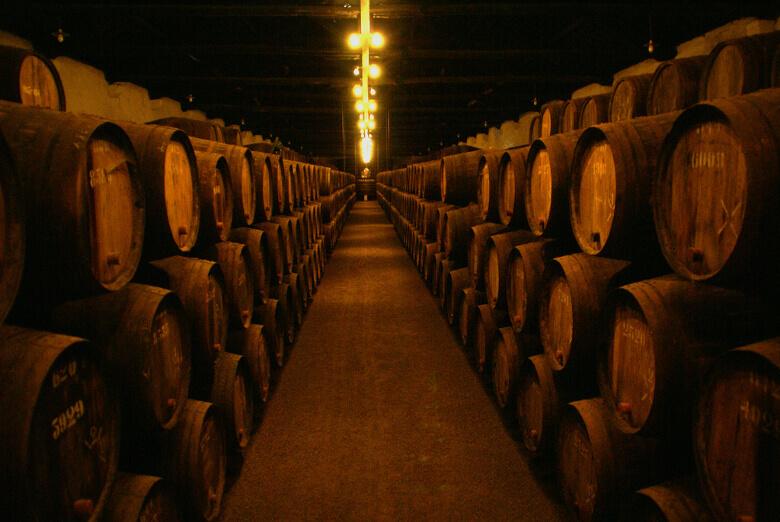 Weinkeller in Porto