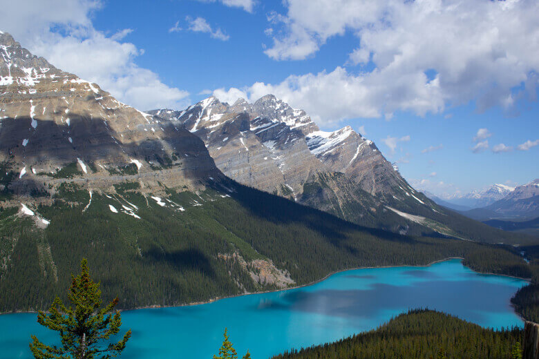 Peyto Lake vom Viewpoint