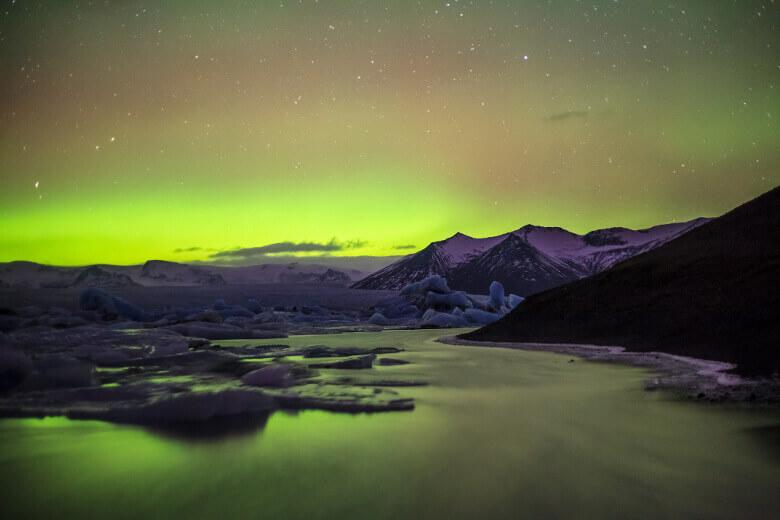 joekulsarlon-gletschersee
