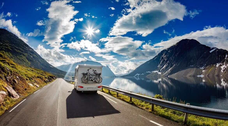 Camping und Wohnmobile in Norwegen