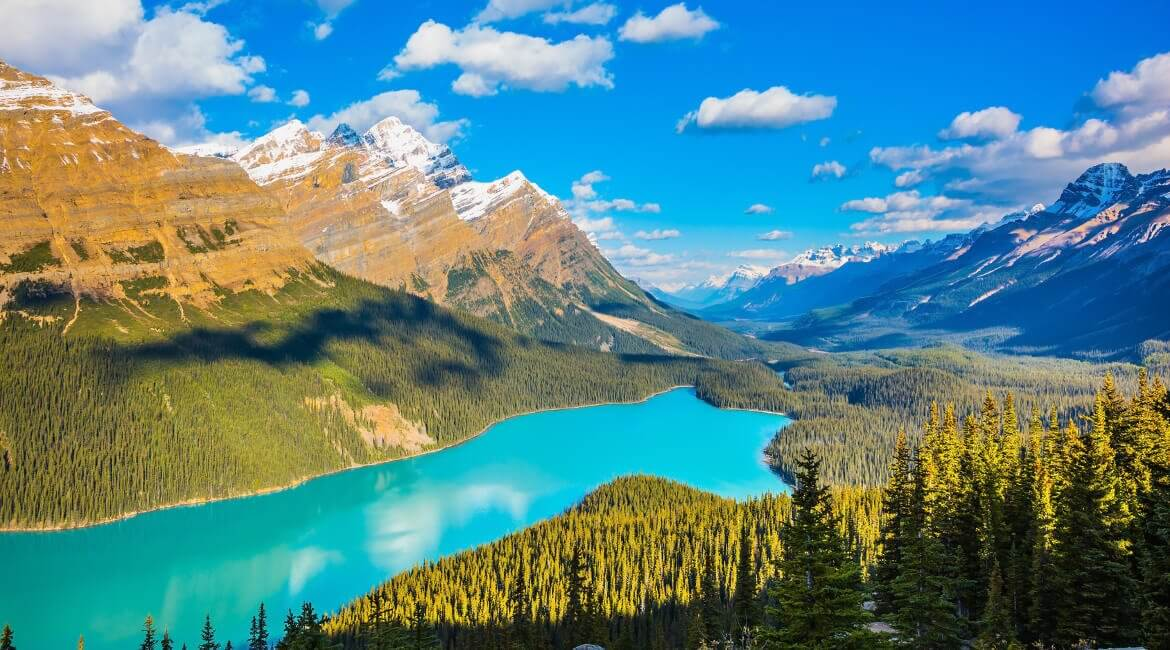 Peyto Lake in Kanada, Banff National Park