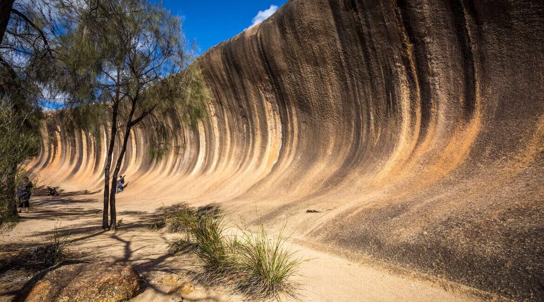 Wave Rock bei Hyden, Western Australia
