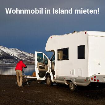 Wohnmobil in Island mieten