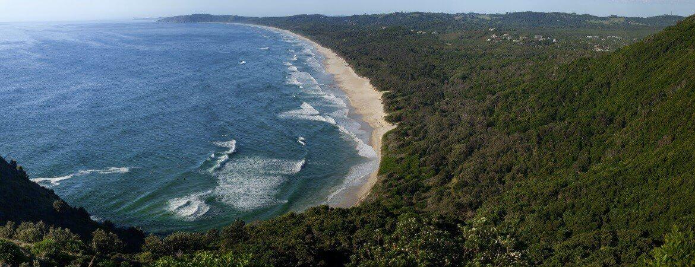 Die Byron Bay, eines der Highlights an Australiens Ostküste