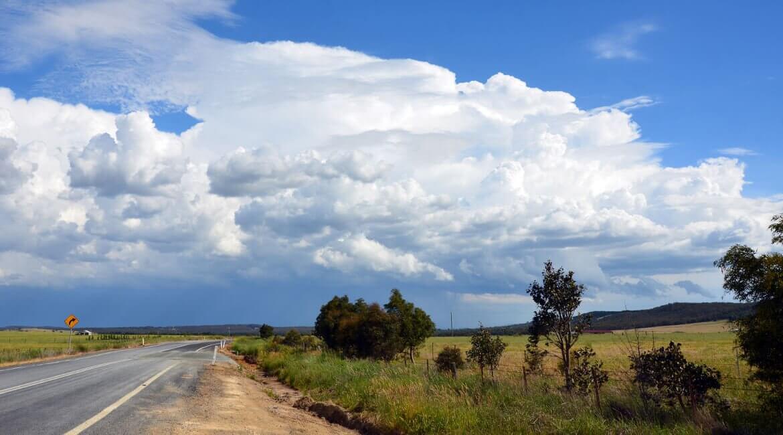 Straße im Osten Australiens